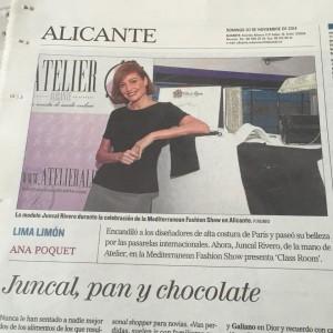 Juncal Rivero con Atelier Alicante